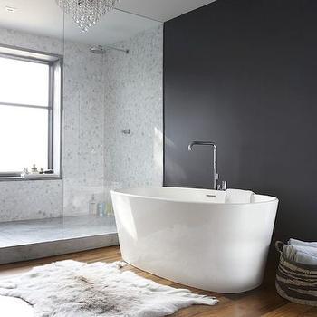 Sheepskin Bath Rug Design Ideas - Cowhide and sheepskin rugs bathroom