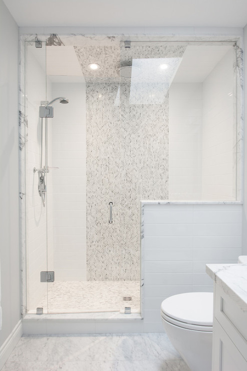 Shower Niches Transitional Garage Austin Bean Design