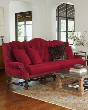Peggy Red Sofa