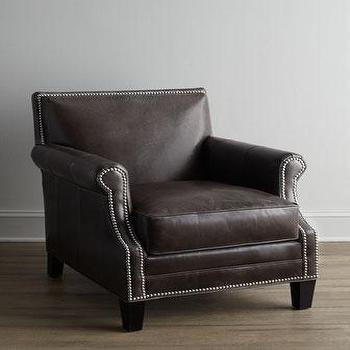 Bernhardt Dascha Leather Chair