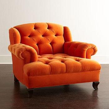 Haute House Mr Smith Orange Chair