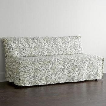 Lee Industries Washed Leopard Banquette I Horchow