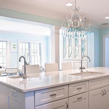 Kitchen Island With 2 Sinks Design Ideas