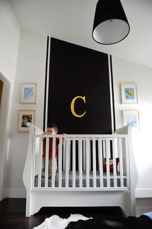 Black and White NUrsery - Contemporary - nursery - Project Nursery