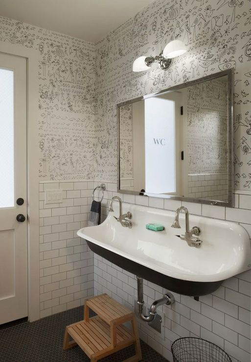 kohler brockway 5 wash sink with drillings for three