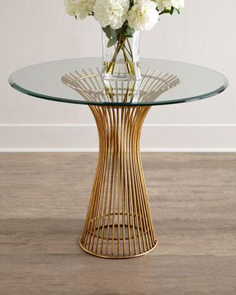 powell gold entry table