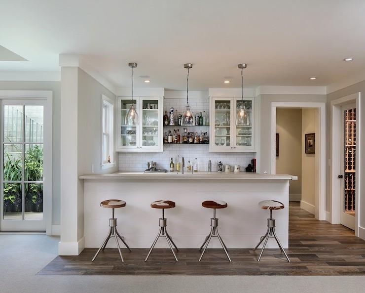 Wet Bar Ideas - Transitional - kitchen - Modern Organic Interiors