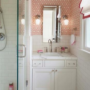 Girls Bathrooms, Transitional, bathroom, Modern Organic Interiors