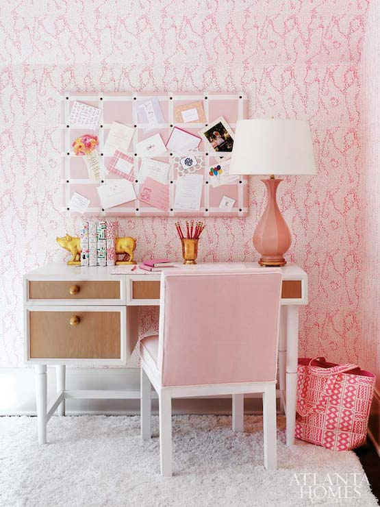 Living Room Desk - Contemporary - living room - Closet Full of Nothing