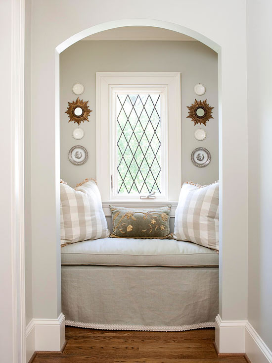 Arched Reading Nooks Cottage Bedroom Bhg