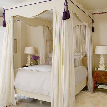 Bedroom Curtains cream bedroom curtains : Cream And Lavender Patterned Curtains Design Ideas