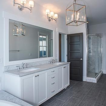 Wood Like Tile, Transitional, bathroom, Modern Organic Interiors