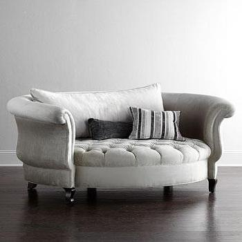 Ordinaire Haute House Harlow Silver Cuddle Chair