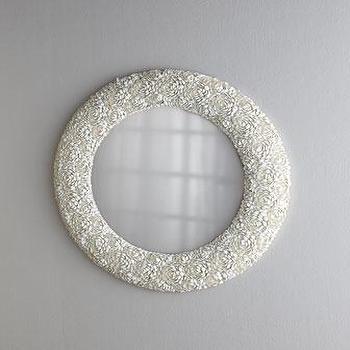 Clamrose Shell Mirror I Horchow