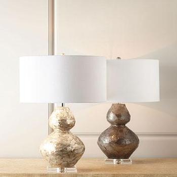 Ariel Double-Gourd Lamp I Horchow