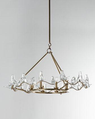 Dove gold chandelier aloadofball Gallery