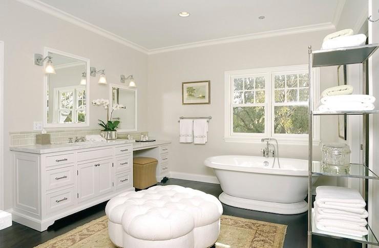 round ottoman for bathroom 1