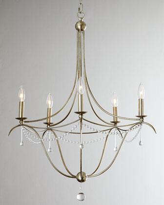 Crystorama simple elegance silver chandelier aloadofball Gallery