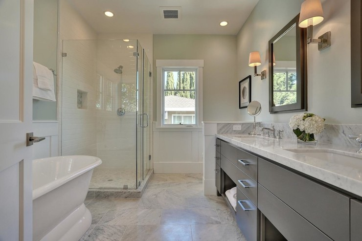 100 white and gray bathroom 12