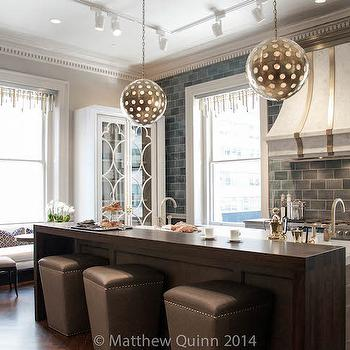 Cast Limestone Kitchen Hood, Contemporary, kitchen, Matthew Quinn Design