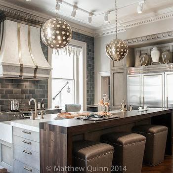 Walnut Countertop, Contemporary, kitchen, Matthew Quinn Design