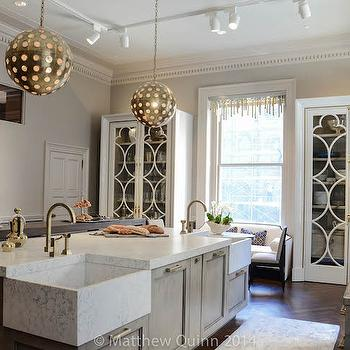 Corner Kitchen Sink, Contemporary, kitchen, Matthew Quinn Design