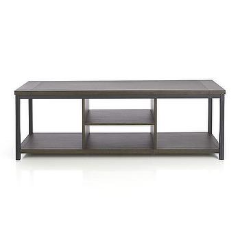 """Montage 59"""" Media Stand I Crate and Barrel"""