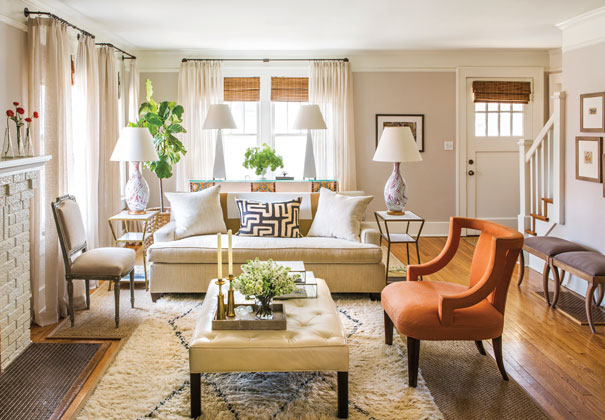 Traditional Living Room Benjamin Moore Ashen Tan Mh