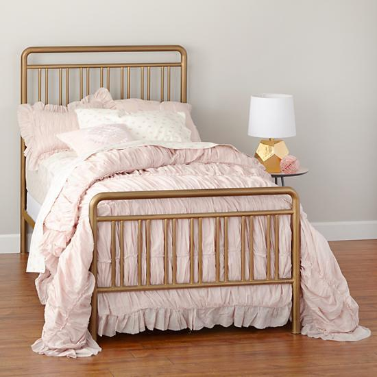 astoria brass metal bed