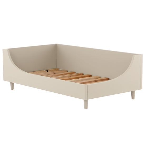 Hampshire Modern Arched White Toddler Bed