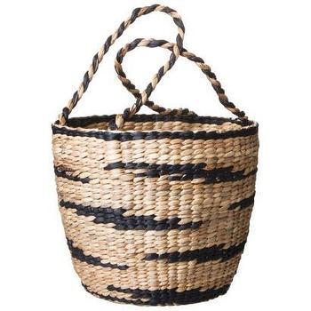 Nate Berkus Water Hyacinth Basket with Handles I Target