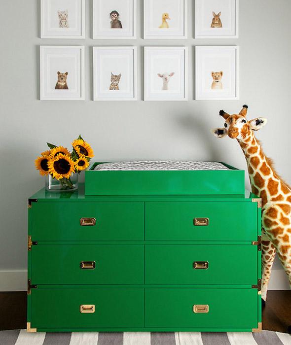 Campaign Dresser Contemporary Nursery Grant K Gibson