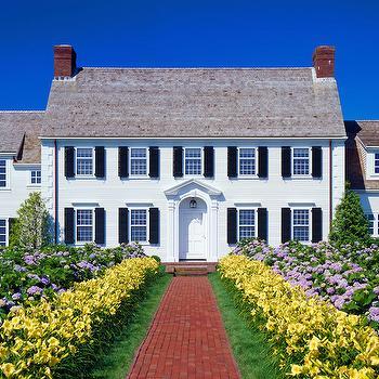Colonial Home, Traditional, home exterior, Polhemus Savery DaSilva