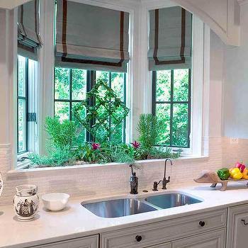 Pics For Kitchen Sink Bay Window