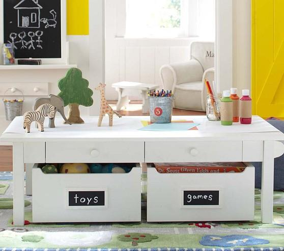 Carolina Grow With You White Craft Table