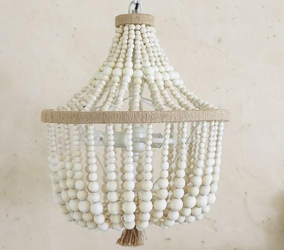 large beaded farthing products antique luna old vintage style pendant white light chandelier the