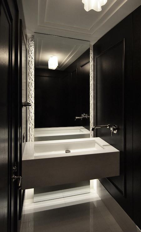 Floating Sink Modern Bathroom Dspace Studio