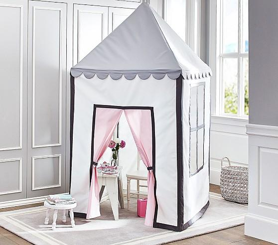 Preppy White And Blue Playhouse