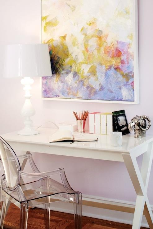 X Base Desk - Contemporary - girl\'s room - Benjamin Moore ...