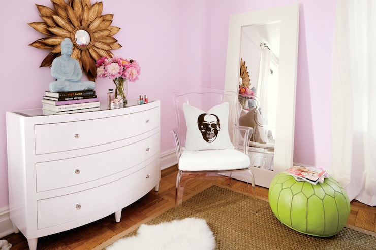 Lilac Paint Colors - Contemporary - girlu0026#39;s room - Benjamin Moore Misty Lilac - Teen Vogue
