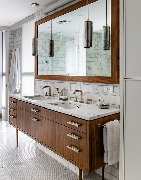 Mid Century Modern Vanity View Full Size