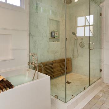 Teak Shower Bench Design Ideas