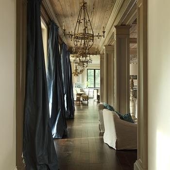 Floor To Ceiling Drapes Design Ideas