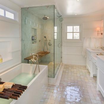 Fold Down Teak Shower Bench Design Ideas