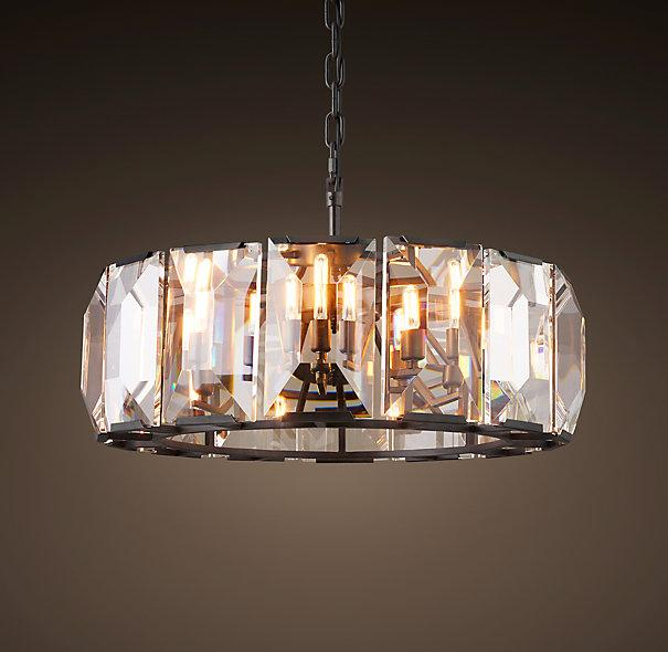 Harlow Round Crystal Chandelier