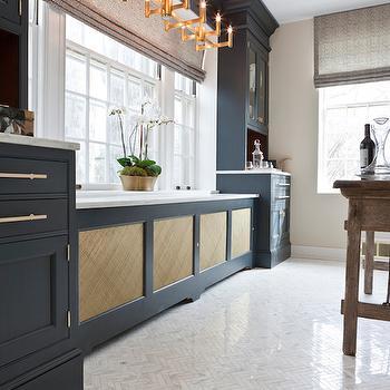 Calcutta Herringbone Tiles, Eclectic, kitchen, C2 Noodle, Aidan Design