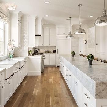 Carrera Countertops, Transitional, kitchen, Benjamin Blackwelder Cabinetry