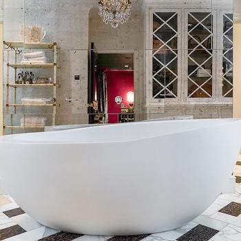 Egg Shaped Bathtub