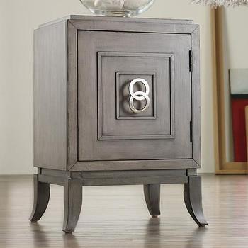 Melange Easton Chairside Chest Furniture, Wayfair