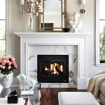 Styled Fireplace